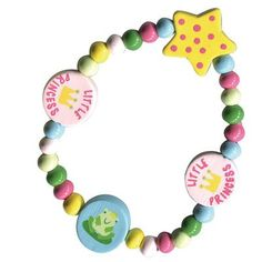 Sassafras / Wooden Bead Bracelet, Princess * Check out this great product.