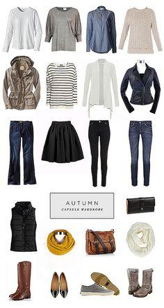 Autumn Capsule Wardrobe | Roots, Wings & Wanderings
