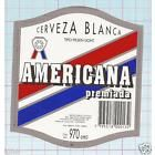 ARGENTINA - Cerveceria Rio San Juan - Americana Premiada 970cm- beer label C1234