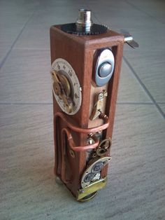 steampunk wood e cig mod I/1 by EagleTalon69 on deviantART