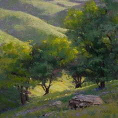 california pastel landscape paintings - Google Search