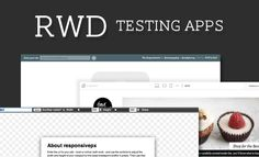 Responsive web design testing apps - interesting!