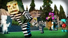 Minecraft Mini-Game: COPS N ROBBERS! (THE EVIL APPLE?!) /w Facecam - YouTube