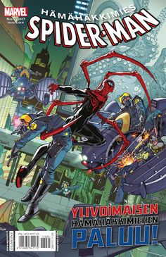 Hämähäkkimies 5/2017 lehtipisteissä 24. toukokuuta! #sarjisparhaus #Marvel #supersankarit