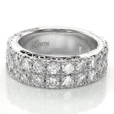 Design 2084 - Knox Jewelers - Minneapolis Minnesota - Filigree Wedding Bands - Large Image
