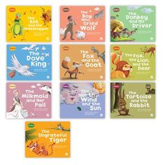 The Fables Big Book Set 1 contains 10 big book versions of each fable from Set 1 of the Fables & the Real World series. Guided reading level range: F–I. World Teachers, Guided Reading Levels, Text Types, Shared Reading, First Grade Classroom, The Real World, Read Aloud, Book Lists, Teacher Resources