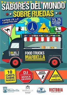 #foodtruck #Marbella #Spain #gastronomy  #chef #japo #italian #spanish #music #concerts #rock&roll #amusementpark