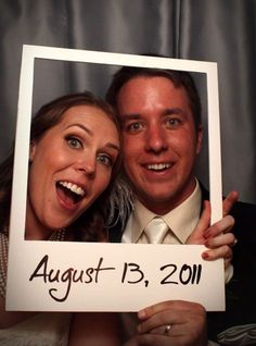 Funny DIY Photo Booth Props | Polaroid Photo Booth Props by DIY Ready at http://diyready.com/19-cool-diy-photo-booth-props/