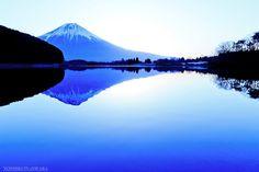 田貫湖での 世界遺産・富士山の夜明け!!