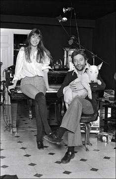 Jane Birkin et Serge Gainsbourg Serge Gainsbourg, Gainsbourg Birkin, Jane Birkin, Lou Doillon, Vogue Paris, James Stacy, Barney Fife, Frankie And Johnny, The Andy Griffith Show