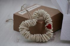 English Wool Decorative Heart | par made by maxine