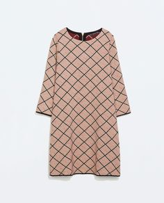 MICRO-JACQUARD DRESS from Zara