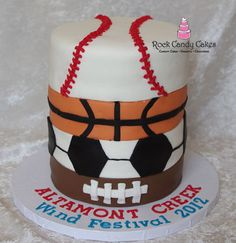 please like 1 of my sports cakes for the compotation