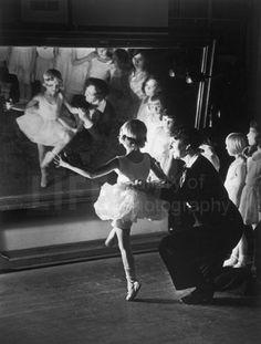 Ballet Class by Alfred Eisenstaedt