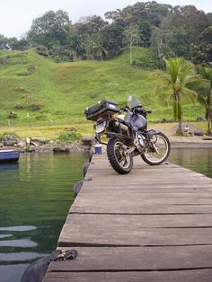 Motorbike adventures in Panama, Central America.
