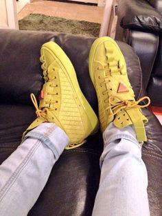 Yellow #sneakers