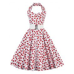SHARE & Get it FREE | Cherry Print Vintage DressFor Fashion Lovers only:80,000+ Items·FREE SHIPPING Join Dresslily: Get YOUR $50 NOW!
