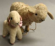 Image result for antique toy sheep