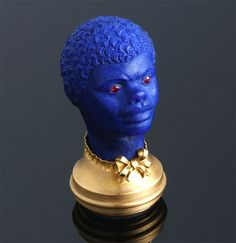 Yellow gold & carved lapis lazuli seal - Art Curator & Art Adviser. I am targeting the most exceptional art! Catalog @ http://www.BusaccaGallery.com