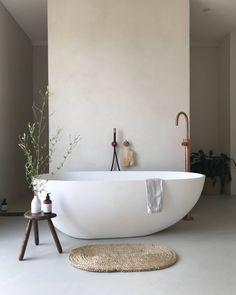 Find Your Zen: 19 Spa Bathroom Ideas Minimal Bathroom, Boho Bathroom, Modern Bathroom Decor, Bathroom Interior, Bathroom Ideas, Bathroom Organization, Contemporary Bathrooms, Bathroom Storage, Small Bathroom