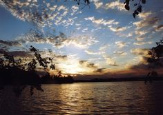 Clouds over a lake during sunset The Places Youll Go, Places To Visit, Ontario Parks, Bass Lake, Beautiful Park, Pretty Pictures, Summer Fun, Clouds, Nature