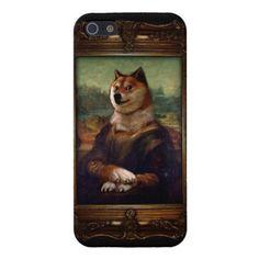 Doge Mona Lisa Fine Art Shibe Meme Painting iPhone 5/5S Cases