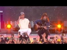 My mama don't like you and she likes everyone.. Justin Bieber Performs 'Love Yourself' - YouTube