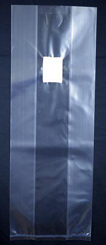 """Medium Mushroom Grow Bag with 0.2 Micron Filter . $0.65. perfect for mushroom spawn production. 0.2 micron filter patch. made out of 2.2 Mil Polypropylene. 8"""" X 4.8"""" X 19. These gusseted mushroom grow bags are perfect for when a high efficiency filter is needed. Each bag measures 8"""" X 4.8"""" X 19"""" and are made out of 2.2 Mil Polypropylene. The filter on these bags are a 0.2 micron filter. The bags are pliable at any temperature as well as after sterilization. The bag opening i..."""
