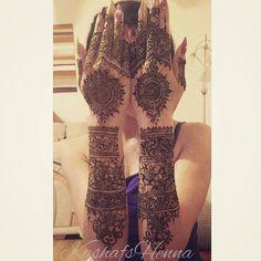 Throwback - bridal henna for one of my regular clients Bridal Mehndi Designs, Bridal Henna, Mehandi Designs, Mehndi Images, Mehendi, Huda Beauty, Ivy, Scotland, Mandala