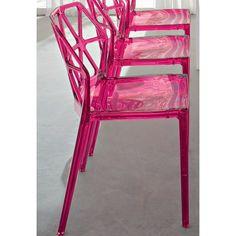 Alchemia Chair via @Eva_Starz #chairs,  #fuchsia
