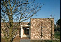 Siza's mottled brick is the same as that used by sculptor Erwin Heerich in the original pavilions