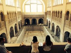 Formerly swimming baths, soon-to-be Hotel Oderberger. An incredible venue opening in Berlin November 2015.  #venues #berlin #events