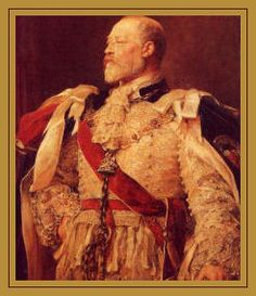 Edward VII was born on the morning of 9th November, 1841 at Buckingham Palace, the first born son and second child of Queen Victoria and her consort, Prince Albert of Saxe-Coburg-Gotha. Bertie, as Prince of Wales, is perhaps best known for a series of amorous liaisons, which his mother did not approve of. The most commonly known of  his mistresses were Lily Langtry, Sarah Bernhardt and Alice Keppel. (Great grandmother of Camilla Parker-Bowles)