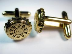 Beer Bottle Cap Cocktail Cufflinks
