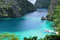 Kayangan Lake, Coron, Palawan, Philippines #travel