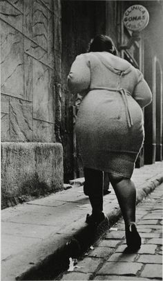 Joan Colom - The Barrio Chino (currently, Raval) Barcelona, Spain. Late 1950's.
