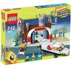 Lego 3832 Spongebob Squarepants The Emergency Room - 2008 Building Sets For Kids, Building Toys, Lego Sets, Lego Ecto 1, Legos, Lego Spongebob, Lego Pictures, Kids Room Furniture, Lego Storage