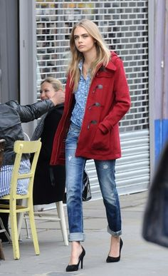 Cara Delevingne is the epitome of London style