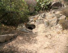 Domus de janas....zona archeologica Montessu..Carbonia