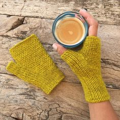 Badland Mitts by Kathryn Folkerth. Knit in The Fibre Co. Cumbria Fingering.