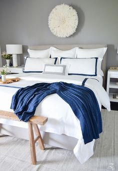 Creating a Cozy Home With the Perfect Bedding + Room Reveal - ZDesign At Home