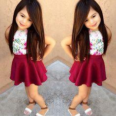 Resultado de imagen para ropa de moda para niña