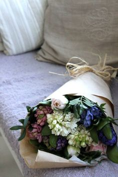 Beautiful bouquet of mixed flowers.  #bouquet. #flowers. #styling