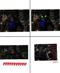 Awsome werewolf rage comic  Werewolf says fffffuuuuu :) Awsome me angry :)