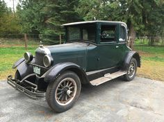 1926 Studebaker Coupe Maintenance of old vehicles: the material for new cogs/casters/gears/pads could be cast polyamide which I (Cast polyamide) can produce