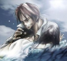Monkey D. Luffy & Shanks,Red-Haired Shanks - One Piece,Anime