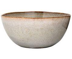 Decken Sie Ihre Tafel mit Salatschüssel Sandrine aus Keramik in Hellgrau. Noch mehr Auswahl an Geschirr von BLOOMINGVILLE auf >> WestwingNow.
