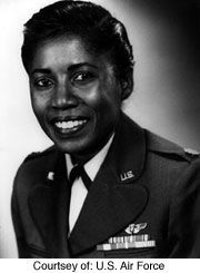 First Lieutenant Nancy C. Leftenant , first African-ameican accepted into the Nurse Corps