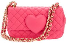 MOSCHINO CHEAP & CHIC quilted chain bag
