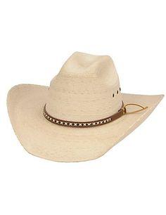 Cavenders Ponderosa Palm Leaf Children s Cowboy Hat f94ac9c5dca5